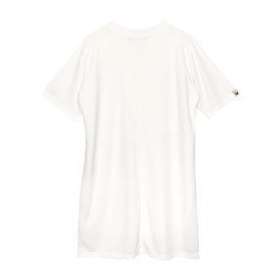 embroidedry  mini dress white